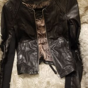 Macakage leather jacket